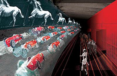 mus e de l 39 automobile de turin mus e avec expositions permanentes et temporaires 2004 08. Black Bedroom Furniture Sets. Home Design Ideas