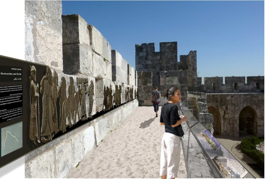 2009 – 2011<span class='br'>–</span> Museum of the Tower of David in Jerusalem